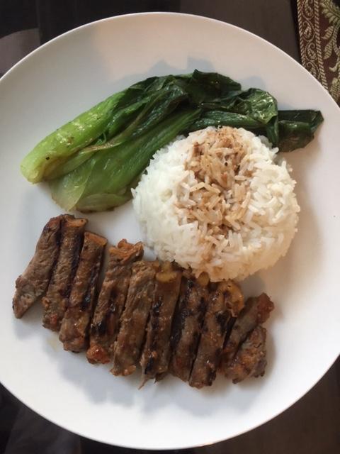 Miso glazed steak (525 calories per serve) – Yummy Calories
